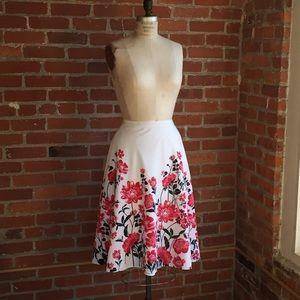 Kate Hill Midi Skirt Size 10